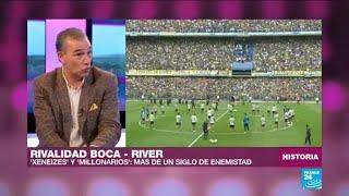 La eterna rivalidad entre Boca Juniors y River Plate