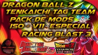 (Descargar) DRAGON BALL Z TENKAICHI TAG TEAM - ISO V11 - ESPECIAL RAGING BLAST 3 - DBS VIDEOS