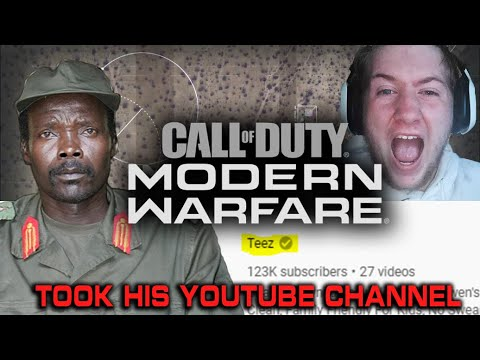 African Rebel Plays Modern Warfare! YouTuber Hacked!
