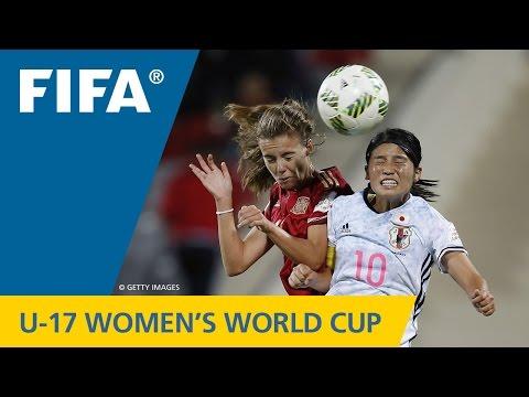 Match 30: Spain v Japan  FIFA Women's U17 World Cup 2016