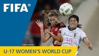 Match 30: Spain v Japan - FIFA Women's U17 World Cup 2016