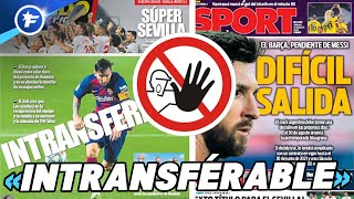 Le FC Barcelone sort les barbelés pour Lionel Messi | Revue de presse