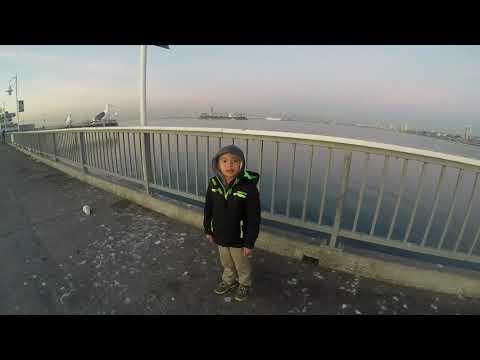Christmas Eve Belmont Pier Pier Fishing  Long Beach, CA 12 24 2017
