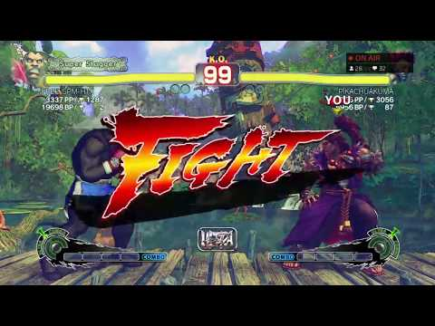 ULTRA STREET FIGHTER IV PIKACHUAKUMA'S STREAM #1
