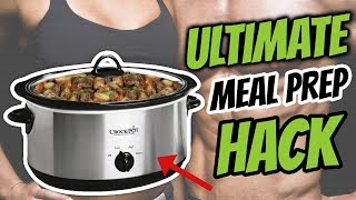Healthy Slow Cooker Recipes That Are So Easy And Tasty (MEAL PREP HACK)