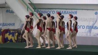 Чемпіонат України 2016. Комбі. Довільна програма. Одеська область