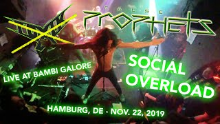 Toxik (performing as False Prophets) - Social Overload - Live at Bambi Galore - Nov 22, 2019