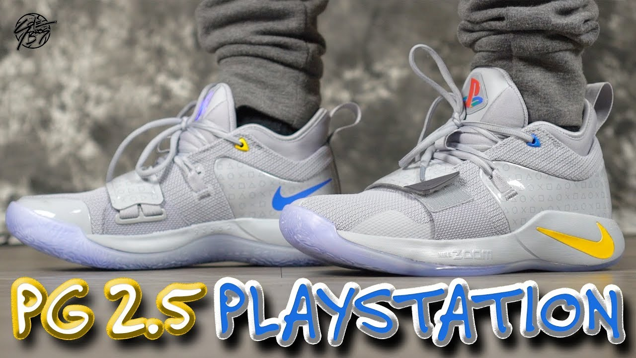huge discount 822aa c19e8 Nike PG 2.5 PLAYSTATION Detailed Look & Review!