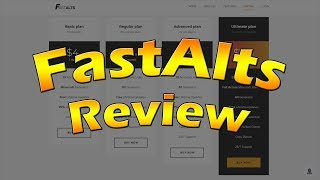 Best Alt Gen 2019 | Fast Alts Generator Review (Minecraft, fortnite, Spotify and more ) (2019)