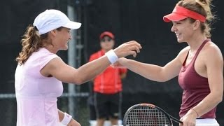 Simona Halep / Monica Niculescu, doubles point of the year ? @ Rogers Cup Montreal