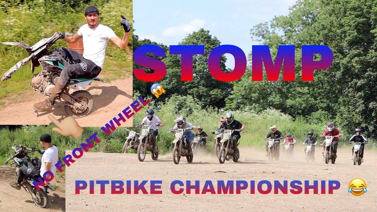 STOMP PITBIKE FUN CHAMPIONSHIPS - ASHDOWN FARM MX