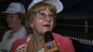 Jubilados de Lomas de Zamora recordaron a Néstor Kirchner con actividades solidarias
