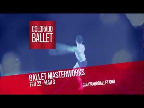 Colorado Ballet presents Ballet MasterWorks