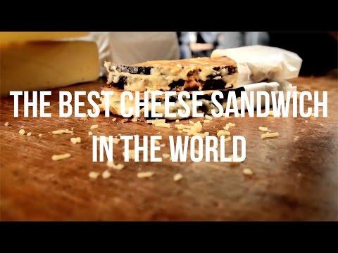 Kappacasein Cheese Toastie from Borough Market in London
