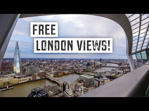 BEST FREE and CHEAP VIEWS of LONDON | Budget Travel Guide