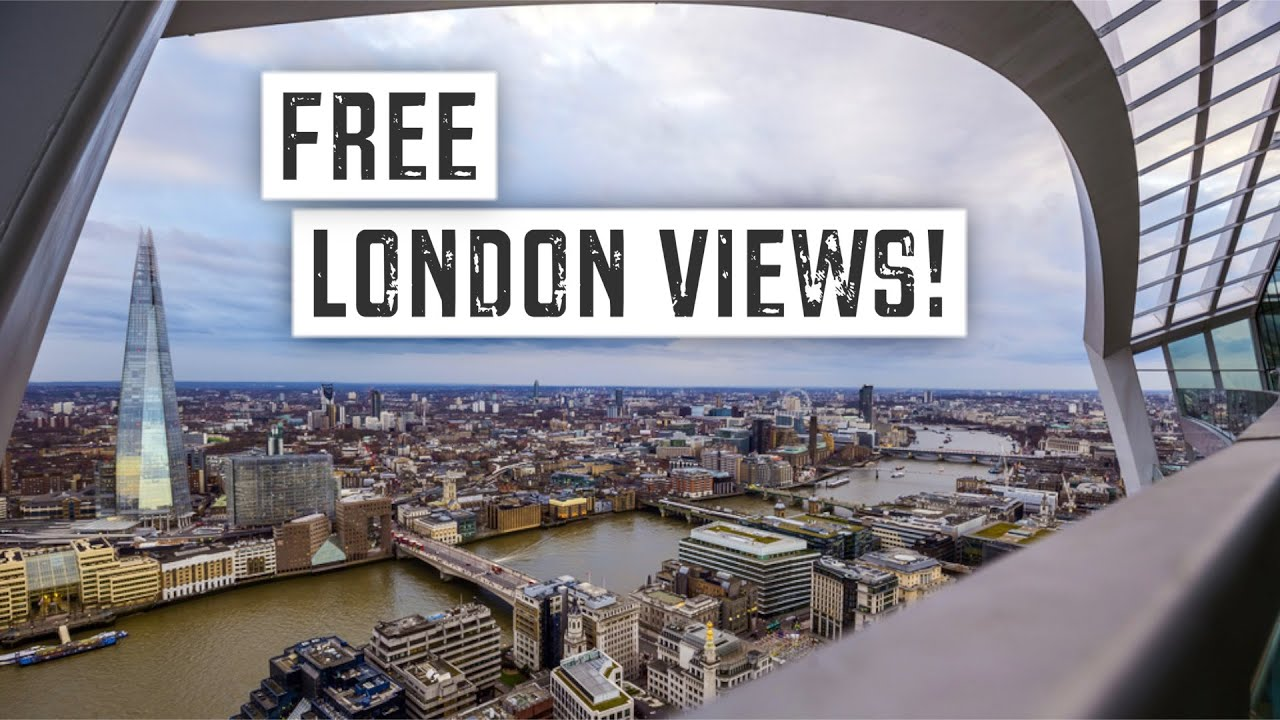 Best Free Views Of London Budget Travel Guide