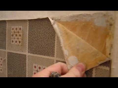 Вопрос: Как удалить бумажный бордюр на обоях?