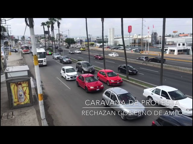 Tercera Caravana FRENA #Querétaro