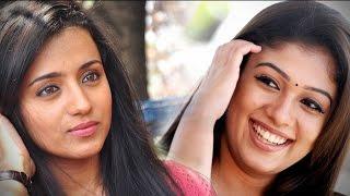 Trisha Angry about Nayanthara and Vignesh Sivan!...