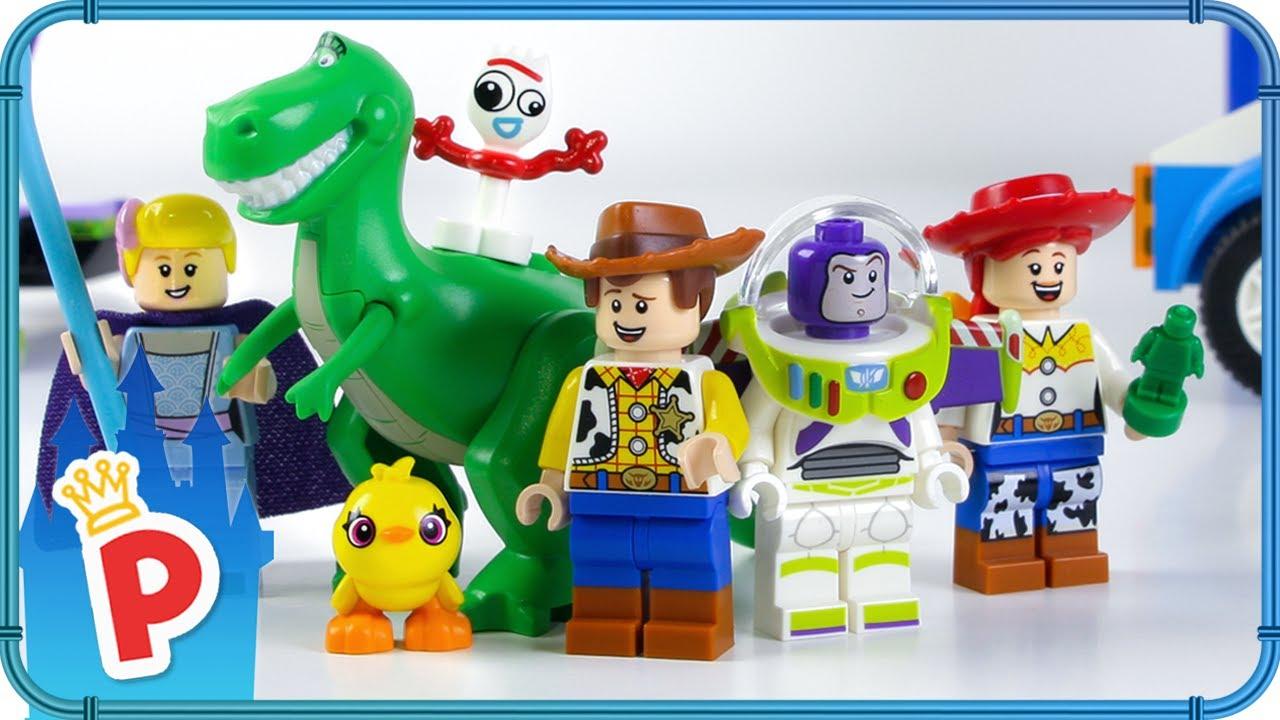 Lego Toy Story 4 Woody Buzz Carnival Mania Rv Vacation