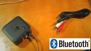 logitech wireless speaker adapter add bluetooth to any stereo how to and review a2dp streaming