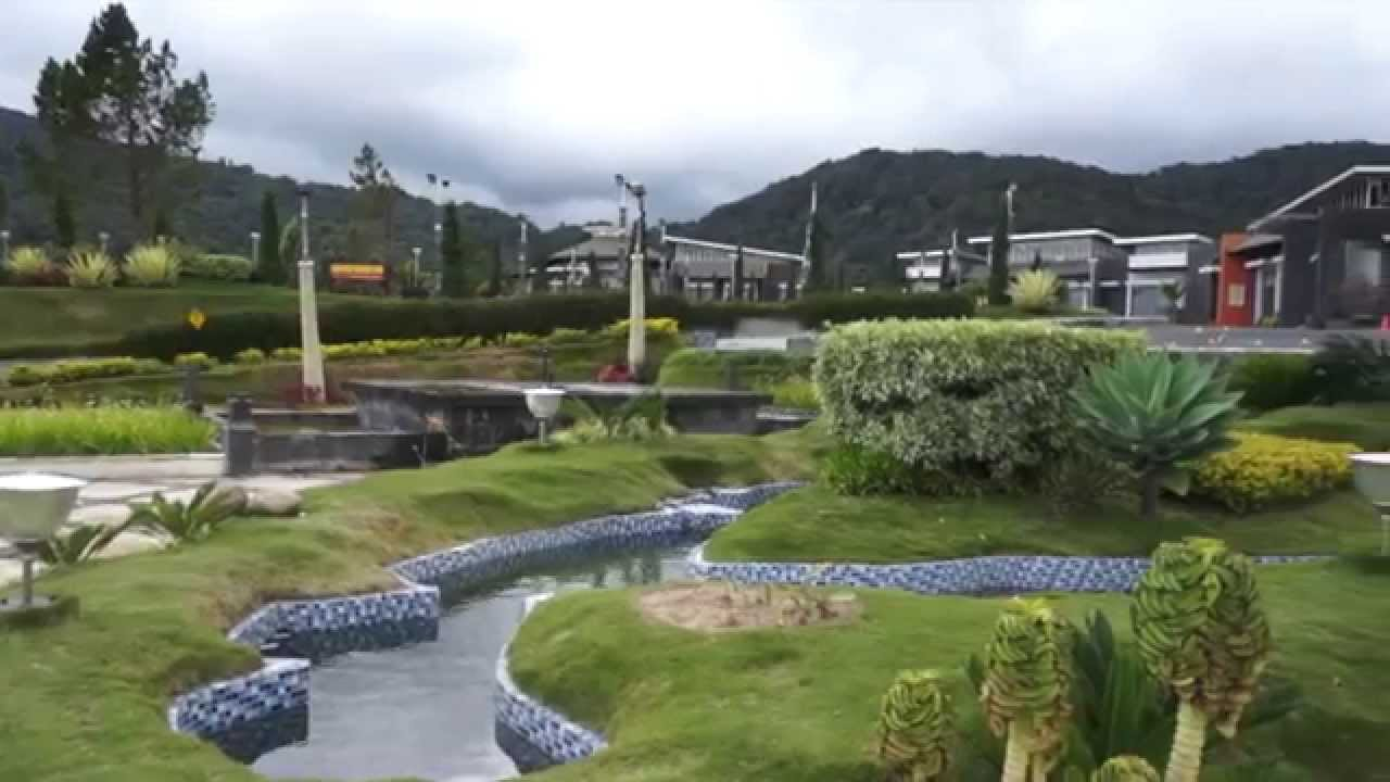Taman Simalem Resort Youtube