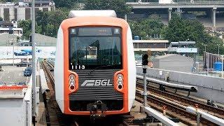 2017/07/19 釜山-金海軽電鉄 1000系 13編成 沙上駅   Busan-Gimhae LRT: 1000 Series 13 Set at Sasang