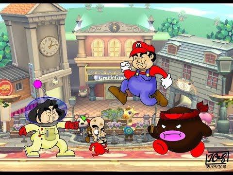 Retas de Smash con Amigos Geis 3 #TONYTON