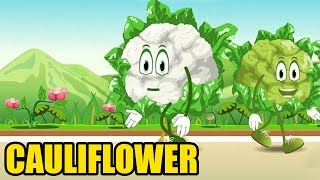 Cauliflower Vegetables Rhymes | English Rhymes | Popular Rhymes For Children | Cauliflower Poems |