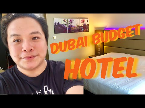 BUDGET HOTEL IN DUBAI| Hotel & Room Tour 2019
