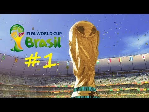 Fifa 2014 World Cup Game  Part 1  A Dribbler