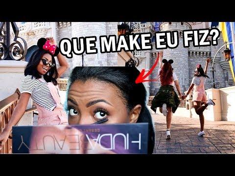 #VLOG2 SE ARRUME COMIGO NA DISNEY Camila Nunes