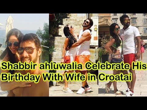 Shabir Ahluwalia celebrates 38th birthday with wife Kanchi Kaul in Croatia!