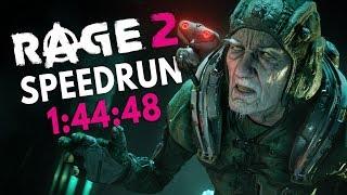 RAGE 2 Speedrun in 1:44:48 [World Record]