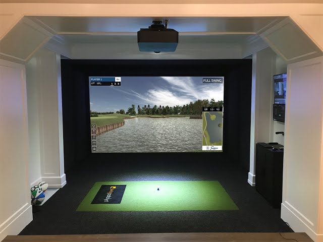 Installing a Full Swing Simulator, Transform Your Space