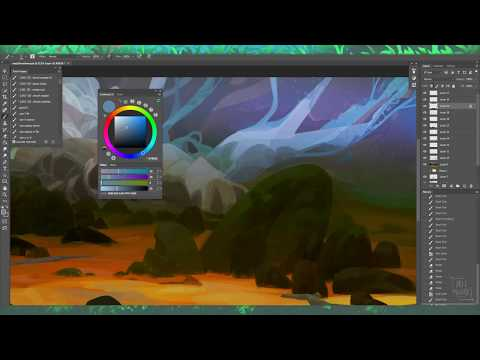 experimental environment sketching – painting process video part 3
