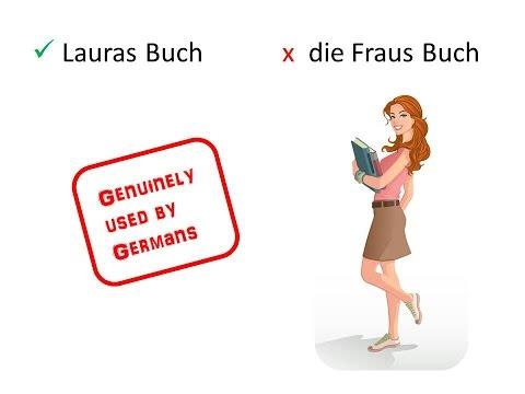 Learn German Grammar: Genitive Case