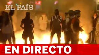 DIRECTO | La MANIFESTACIÓN de los CDR en BARCELONA