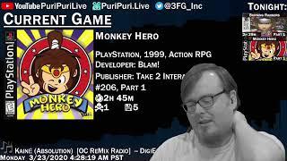 Burning Rangers [Part 1] (Saturn, 1998, Action), PSX#206 Monkey Hero [Part 1] (1999, Action RPG)