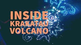 Inside Krakatau Volcano at Universal Volcano Bay
