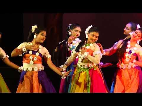 Nitya Mallika  group performing  Sakuntala dance drama-------- Choreograph by Rimpi Saha