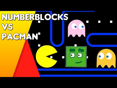 Numberblocks VS PacMan - Fanmade Animation