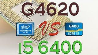 g4620 vs i5 6400 benchmark gaming tests review and comparison kaby lake vs skylake