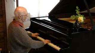 Bertram Eckle plays Bach Fuge e moll BWV 855