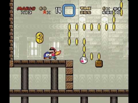 Super Mario World Valley Ghost House Secret Exit