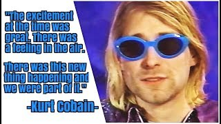 Kurt Cobain on Grunge