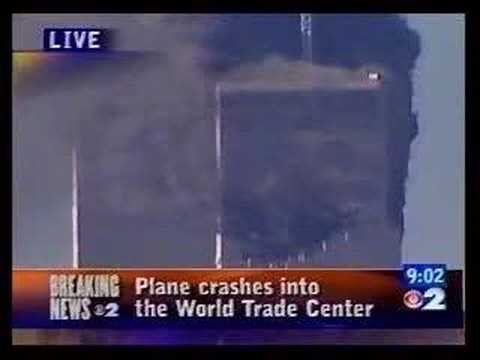 September 11 Attacks - South Tower - Multiple News Networks