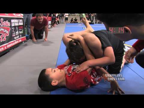 Kids SUBMISSION Jordan Costa Matt Marshall at Grapplers Quest World Series of ...