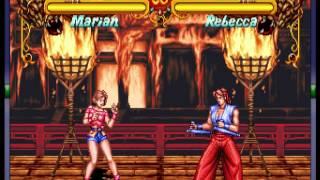 Double Dragon (Neo-Geo) - Rebecca