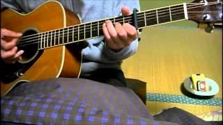素人のギター弾き語り 蒼い星くず 加山雄三 詞:岩谷時子、曲:弾厚作、...